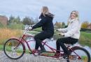 GPS mini Tandem Challenge met een Biesbosch Sloepentocht