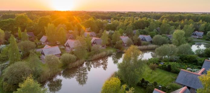 Weekendje Weg in de Weerribben - Overnachten in een Bungalow