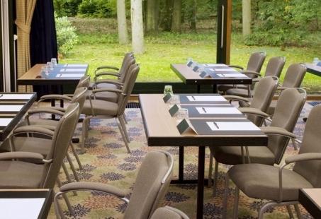 Vergaderen in de buitenlucht in Wolfheze met het 8-uurs vergaderarrangement