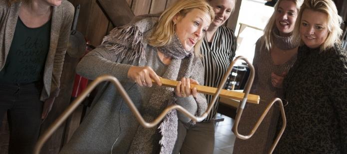 Oud Hollandse spellen met spiraal