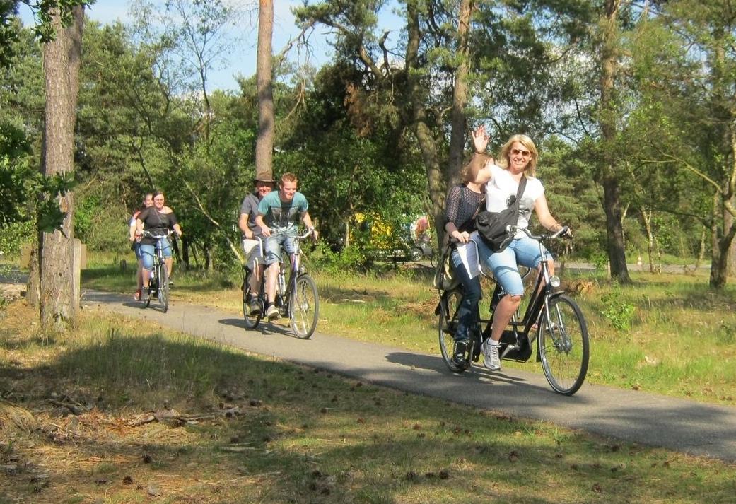 Fietsen slapen en wandelen op de Veluwe - heerlijk weekendje weg