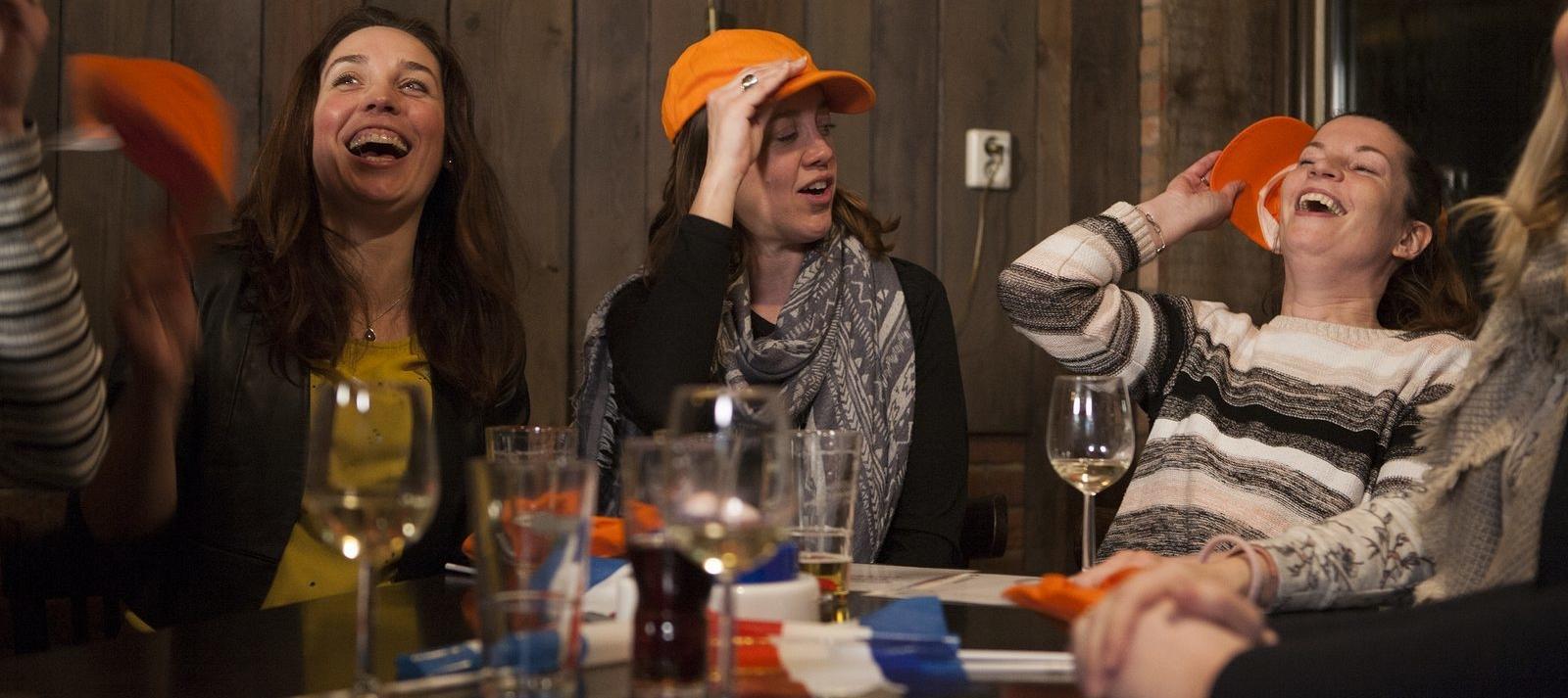 Helemaal Hollands dinerspel - Gezellig groepsuitje op de Veluwe
