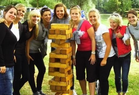 Ga de strijd aan met je collega's tijdens onze Funny Team Games - Bedrijfsuitje in Gelderland