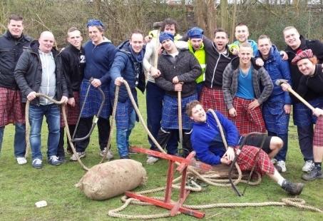 Laser Quest en Highland Games - Een actief mannenuitje in de Achterhoek