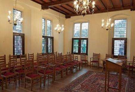 8 uurs vergaderarrangement in Middeleeuwse sferen - Vergaderen in een Historisch Rijksmonument in Montferland