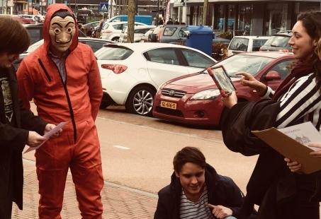 Spannend groepsuitje - Speel het zenuwlopende La Casa de Papel Augmunted Reality in jouw stad
