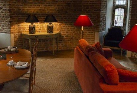 Romantisch nachtje weg in Luxe Torensuite bij Kasteel in Gelderland