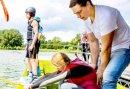 Sportief uitleven op het water van Stroombroek - Waterskiën