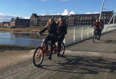 Bedrijfsuitje in de Biesbosch – GPS Tandem Challenge