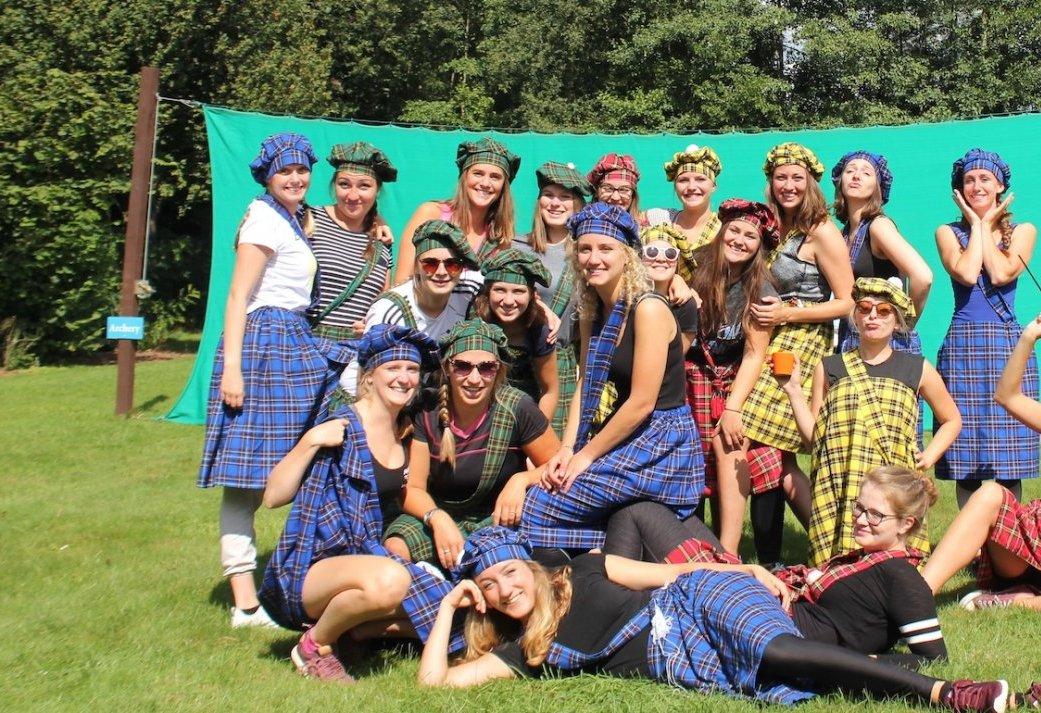 Vriendenuitje met een Schots tintje - Highland games in de Achterhoek