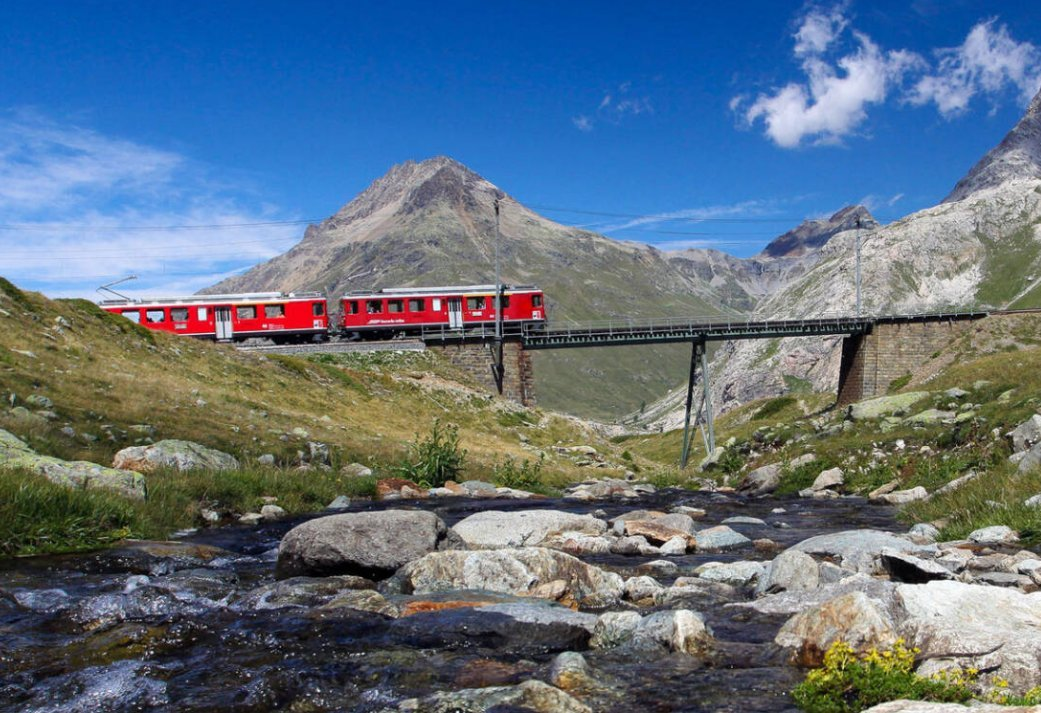Beleef het 8-daagse avontuur tussen de Zwitserse rails