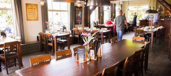 Sfeervol restaurant in Giethoorn