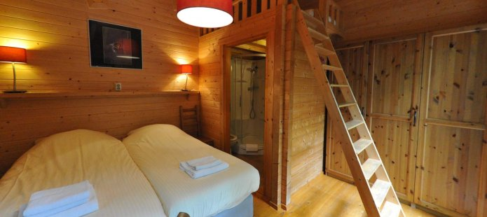 Kamer in een Finse chalet