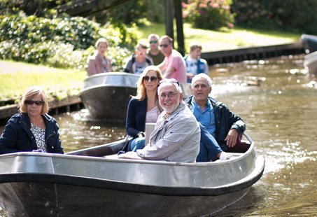 Varen in Giethoorn - Gieterse Burgers of Barbecue