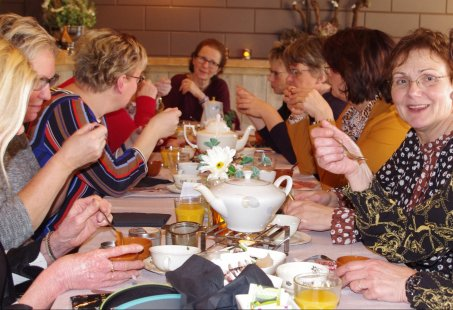 High Tea in de historische kasteelstad s-Heerenberg