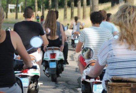 Scooteruitje en pannenkoeken eten in Montferland