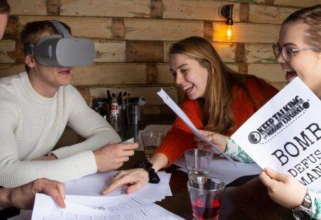Origineel Giethoorn arrangement - Bedrijfsuitje met varen, eten en VR-game