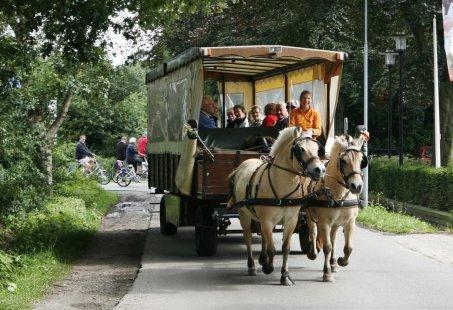 Huifkartocht, Bowlen en Tafelgrillen - Gezellig teamuitje op de Veluwe