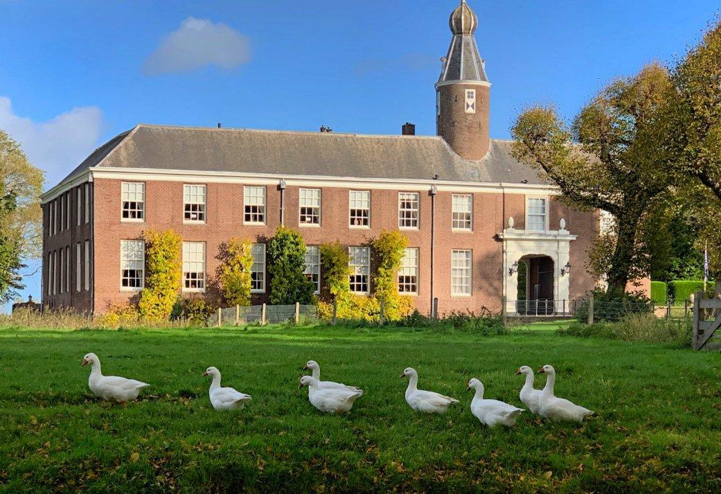 8-uurs vergaderarrangement op een Chateau in Heemskerk