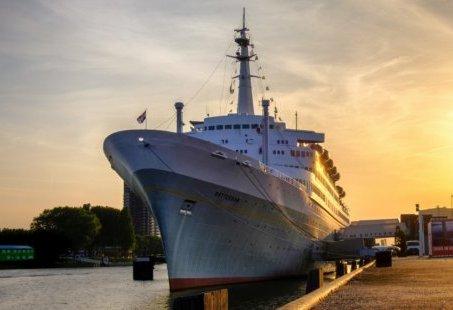 2-daags Kerstarrangement op een Cruiseschip in Rotterdam met dinerbuffet en drankjes inbegrepen