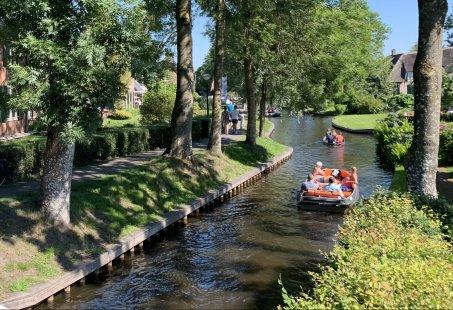 Kleinschalig vergaderen in Giethoorn met aansluitend een leuke activiteit