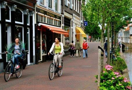 Fietsvakantie van historisch Delft naar wereldstad Rotterdam en weer terug