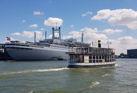 Rondvaart inclusief Diner - 2.5 uur varen langs de Rotterdamse havens
