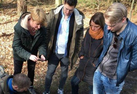 Vriendenweekend met langlaufen en schietprogramma op de Veluwe