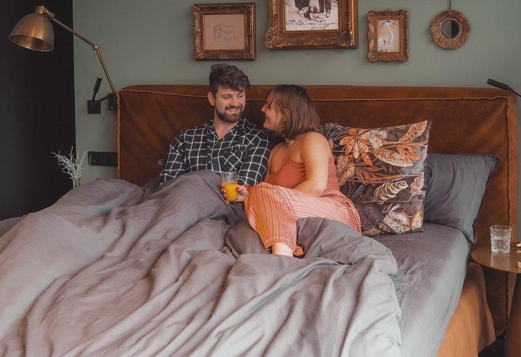 Romantisch nachtje in een Brabantse villa met ontbijt op bed