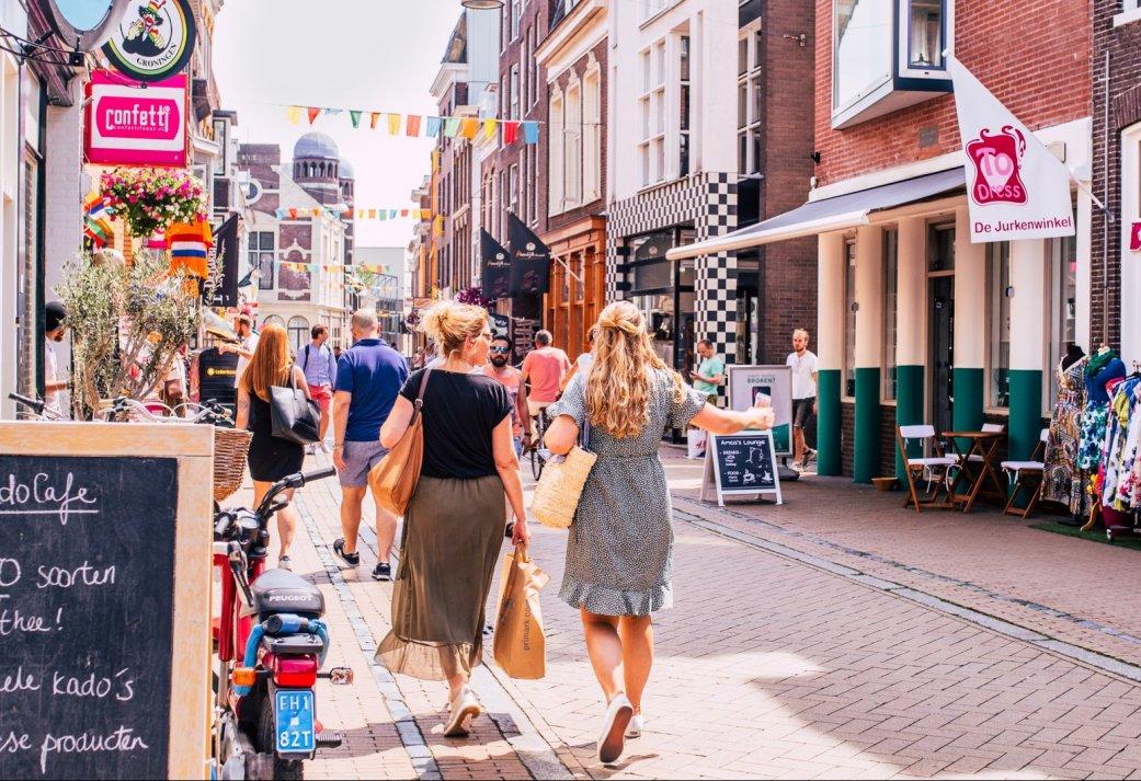 Vriendinnenarrangement Shop & Share in hartje Groningen
