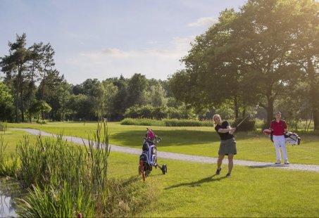 18 holes Golfen op Het Rijk van Sybrook en 3 dagen verblijven in Twente