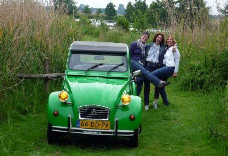 Weekendje weg in een 2CV - Lekker genieten en touren!