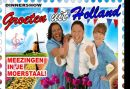 Groeten uit Holland Dinnershow in Breda - Genieten van Nederlandse hits van vroeger en nu