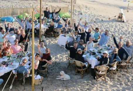 Teambuilding weekend Egmond aan Zee - Escape game en strand spektakel