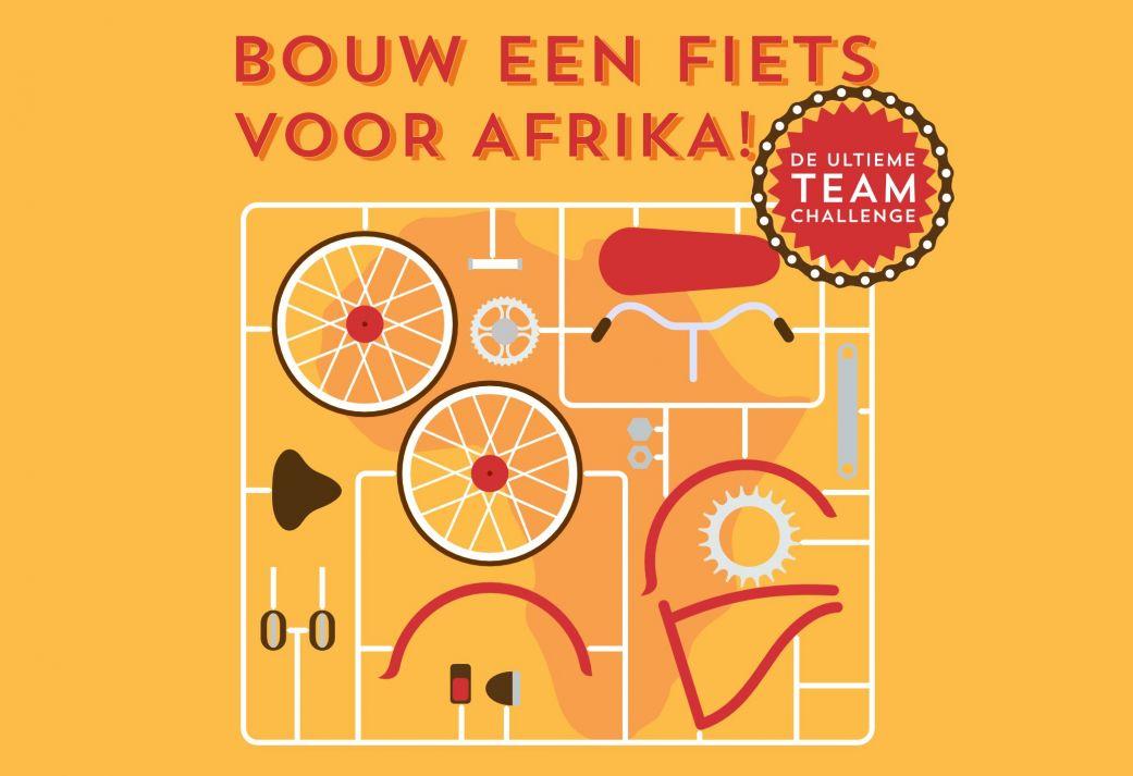 Bouw een fiets voor Afrika - Super groepsuitje op eigen locatie te boeken