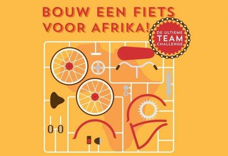 Bedrijfsuitje voor het goede doel op eigen locatie - Bouw een fiets voor Afrika